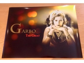 GRETA GARBO PHOTO POSTER