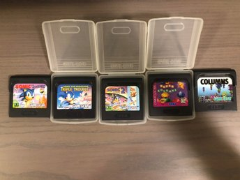 SEGA GAME GEAR spel