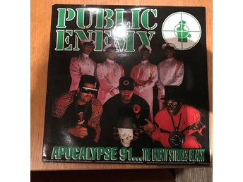 Public enemy- Apocalypse 91.... the enemy strikes black  dubbel Lp