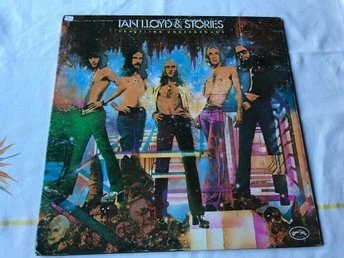 IAN LLOYD & STORIES - TRAVELING UNDERGROUND LP 1973