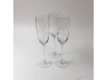 Champagneglas, Transparent