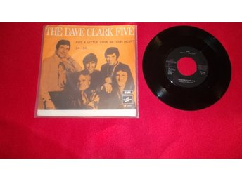 "The Dave Clark Five ""Put a little love in your heart"" singel"