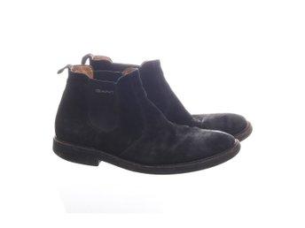 GANT, Boots, Strl: 44, Svart, Mocka