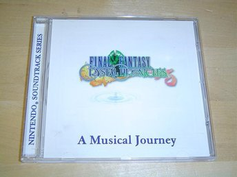 FINAL FANTASY CRYSTAL CHRONICLES SOUNDTRACK MUSIK *NYTT*