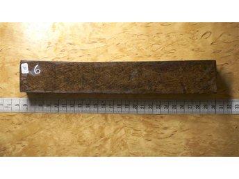 Redwoodburl stabbad 235x37x25 skaftämne masurbjörk - Boden - Redwoodburl stabbad 235x37x25 skaftämne masurbjörk - Boden