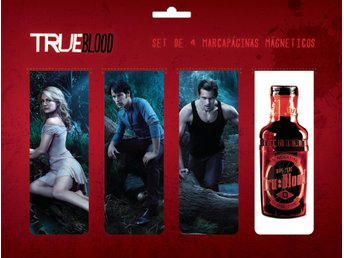 TRUE BLOOD MAGNETIC BOOKMARK SET A