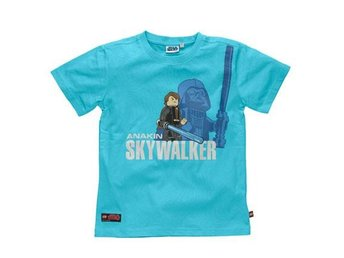 LEGO STAR WARS, T-SHIRT ANAKIN SKYWALKER, TURKOS (128)