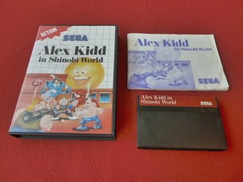 ALEX KIDD IN SHINOBI WORLD till Sega Master System