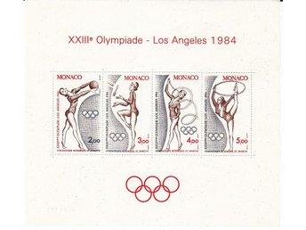 Monaco 1984. Mnr: Block nr 25 ** - Njurunda - Monaco 1984. Mnr: Block nr 25 ** - Njurunda
