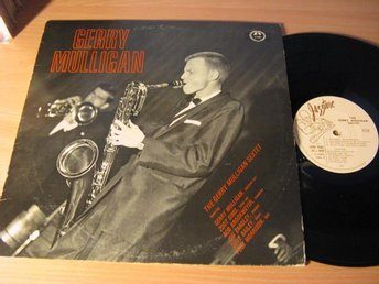 Gerry Mulligan. Gerry Mulligan Sextet. 1957 Jazztone USA.