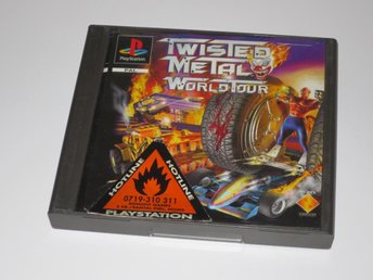 Twisted Metal 2(II) World Tour till Playstation 1/PS1 - PAL