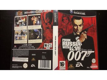 James Bond From Russia With love 007 (Sean Connery) Nintendo Gamecube