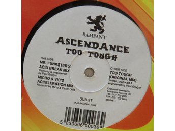 Ascendance-Too Tough (3 versioner) / 12""