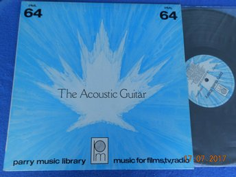 MIKE GADSEN - THE ACOUSTIC GUITAR Library LP PARRY PML 64 Kanada 1982