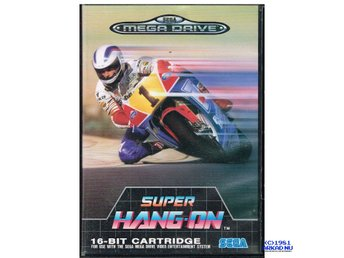 SUPER HANG-ON SEGA MEGA DRIVE MEGADRIVE