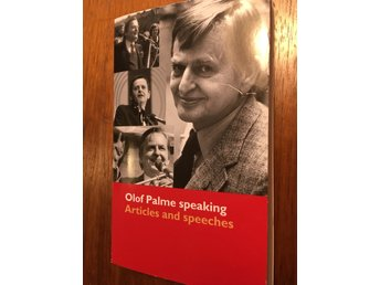 Olof Palme speaking - Articles and speeches pocketbok