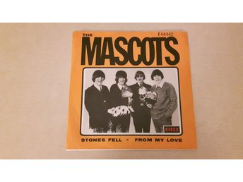 The Mascots - Stones Fell / From My Love (Endast Omslag)