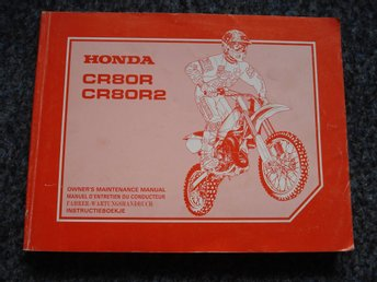 Honda CR 80R/ CR 80R2 Manual124 sidor