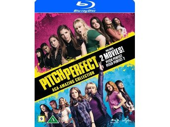 Pitch perfect 1+2 (2 Blu-ray) Ord Pris 249 kr SALE