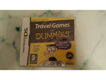 Travel Games for Dummies. Nintendo DS. Nytt!