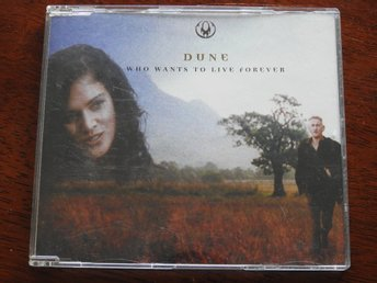 Dune ‎– Who wants to live forever CD Single