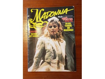 Rockposter Special Madonna