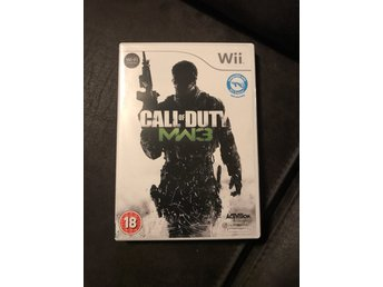 Call Of Duty MW3 Wii komplett
