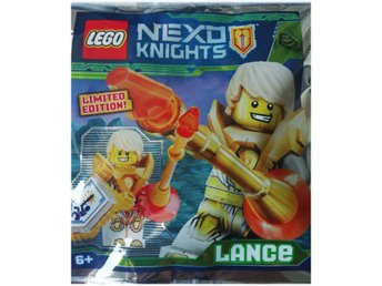 Lego - Figurer Nexo Knights Lance 271828 Limited Edition FP