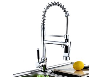 Kitchen Sink Mixer Faucet Pull Out Sparyer Tap Single Han...