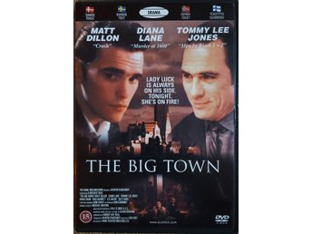DVD The Big Town 1987 Matt Dillon/Diane Lane/Tommy Lee Jones UTGÅTT/OOP!