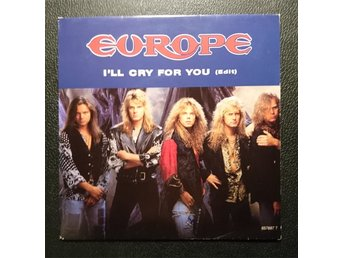 "EUROPE   ""Ill cry for you / Seventh sign""     single 7"""