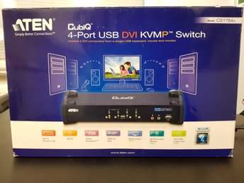 4-Port USB DVI/Audio KVMP™ Switch CS1764A