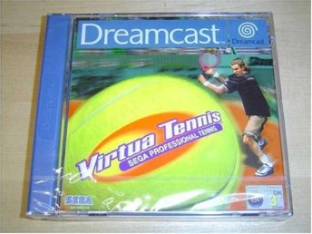 VIRTUA TENNIS SEGA DREAMCAST PAL *NYTT*