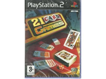 21 CARD GAMES  (INPLASTAT PS2 SPEL)