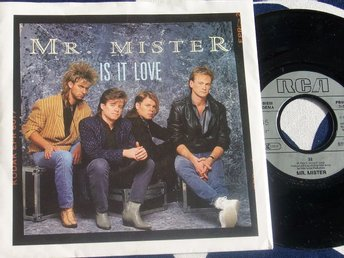 "MR MISTER - IS IT LOVE 7"" 1985"