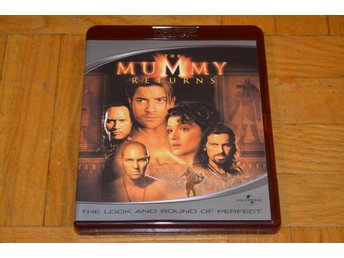 Mumien Återkomsten - Mummy Returns HD DVD