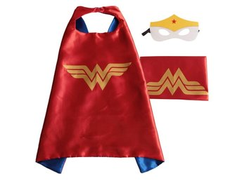 Mantel + Mask Wonderwoman Wonder woman - Fri frakt