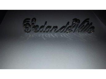 Cadillac retro märke sedan de ville Veteranbil - Skultuna - Cadillac retro märke sedan de ville Veteranbil - Skultuna