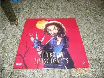 Return of the living dead 3 - 1st Laserdisc - Säffle - Return of the living dead 3 - 1st Laserdisc - Säffle
