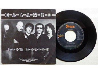 "BALANCE 'Slow Motion' 1982 Dutch 7"", KISS related - Bröndby - BALANCE 'Slow Motion' 1982 Dutch 7"", KISS related - Bröndby"