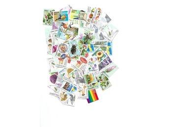 100 brevmärken ostämplade utan gummering - Varberg - 100 brevmärken ostämplade utan gummering - Varberg