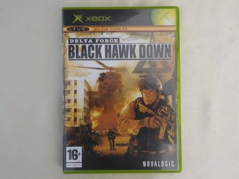 X BOX SPEL, BLACK HAWK DOWN