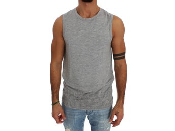 Ermanno Scervino - Gray Modal Stretch T-shirt Top