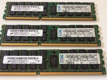 24 GB DDR3 Server Ram minne (3 X 8gb = 24 gb ) ,