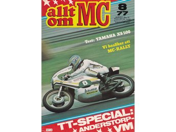Allt Om Mc 1977-8 Moped Suzuki K50 Test..Yamaha XS 500