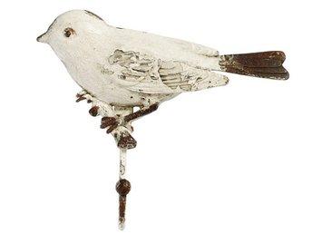 Väggkrok Fågel Vit, från Nordal - Stockholm - Väggkrok Fågel Vit, från Nordal - Stockholm
