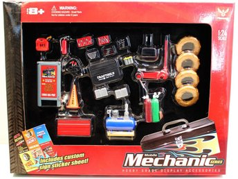 Mobile Repair Garage kit Skala 1-24