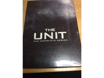The Unit - All 4 seasons DVD box set - Ny i plast - Malmö - The Unit - All 4 seasons DVD box set - Ny i plast - Malmö