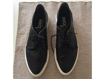 Skor från Bronx i svart läder - Umeå - Skor från Bronx i svart läder - Umeå