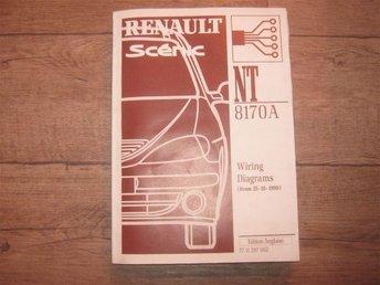 Renault Scenic verkstadshandbok NT 8170 A på engelska - Mjölby - Renault Scenic verkstadshandbok NT 8170 A på engelska - Mjölby